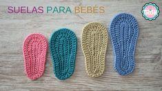 👶🏼SUELAS PARA BEBÉS 👶🏼 - CROCHET - FÁCIL - 3 a 6 meses👶🏼 👶🏼 Crochet Square Pattern, Crochet For Kids, Slippers, Blog, Youtube, Crochet Shoes, Hat Crochet, Tricot, Craft