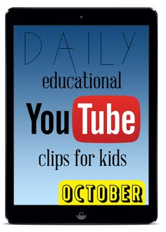Kids Online :: daily educational videos {October} - JessicaLynette.com