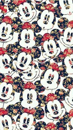 Imagem de wallpaper, disney, and mickey mouse