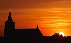 Bernau bei Berlin - Sonnenuntergang
