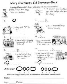 Ar Quiz Answers For Diary Of A Wimpy Kid