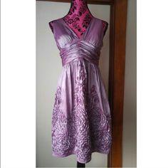 Gorgeous Vintage Purple Dress