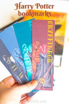 Printable Harry Potter Bookmarks Harry Potter Printable Bookmarks, Harry Potter Bookmark, Free Printable Bookmarks, Harry Potter Printables, Diy Bookmarks, Free Printables, Printable Crafts, Harry Potter Free, Harry Potter Hogwarts