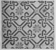 Celtic Cross Stitch, Cross Stitch Borders, Cross Stitch Patterns, Crochet Patterns, Blackwork, Filet Crochet, Knit Crochet, Graph Paper Art, Tapestry Crochet