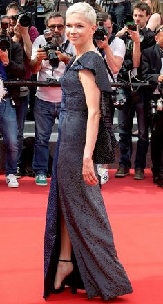 Best Dressed Stars on Cannes Red Carpet 2017 - Michelle Williams in Louis Vuitton