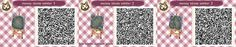 I regularly get asked for the QR codes of the stepping stone path I use in my ACNL town, so here are all the seasonal versions I had handy for those that would like them. A few caveats for people...
