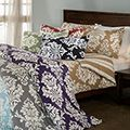 Blue $43 great reviews Havana Floral Reversible 3-piece Duvet Cover Set | Overstock.com Shopping - The Best Deals on Duvet Covers