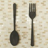 Found it at AllModern - 2 Piece Fork and Spoon Wall Décor Set