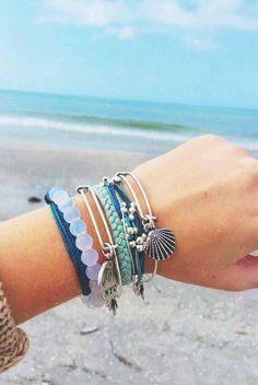 L D O C E A N ะ nice bracelets for women 2018!! #handmadejewelry #bracelets #dtconnerjewelry
