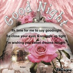 Good Night beloved friend! God bless you M. Ly
