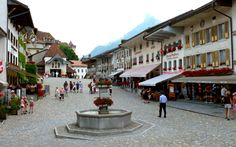 """See 400 photos from 2441 visitors about fondue, medieval village, and gardens. """"A beautiful medieval village that hosts the Giger Museum. Places In Europe, Places To Travel, Places To See, Voyager Loin, Medieval Town, Most Beautiful Cities, Wonderful Places, Travel Tours, Travel Europe"""