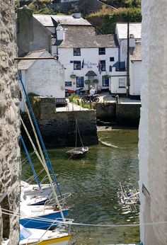 Glimpse across Polperro Harbour .... ♥♥ ....- Cornwall Guide Photos