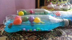 COCO...tra coccole e colori...: Il mare in bottiglia -dal libro: Arcobaleno. Il pesciolino più bello di tutti i mari.