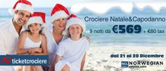 PROMOZIONI CROCIERE DI NATALE E CAPODANNO  X INFO TEL. 010 5733006  http://www.ticketcrociere.it/natale01.php