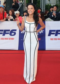 "Michelle Rodriguez At The ""Fast And Furious 6"" South Korea Premiere"