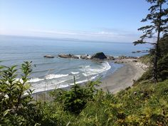 Day trip to the Pacific Ocean Beach in the Olympic National Park, WA.