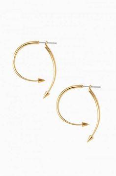 Winding Arrow Earrings by Stella & Dot