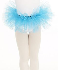 Take a look at this Turquoise Short Bando Tutu by Capezio on #zulily today!