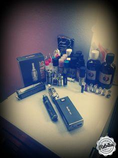 e-liquids, mods, atomizer