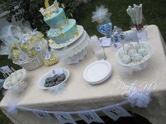 """Photo 1 of 19: Baby Boy Shower / Baby Shower/Sip & See """"B is for BABY - B is for BOY!"""" 