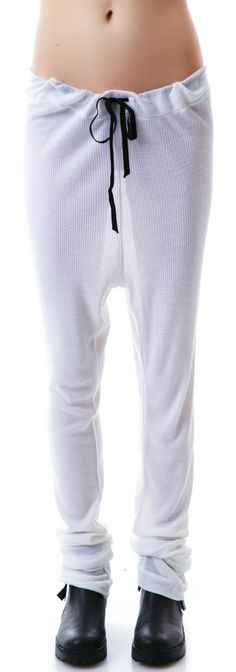 Obesity and Speed Baby Thermal Draped Sweatpants | Dolls Kill