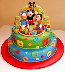 Image result for torta mickey mouse un piso
