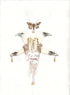 Obra plástica de Mariana Magdaleno, marzo 2014.