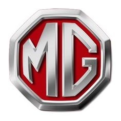 MG Logo this restyled MG logo is in use since 2008. The Chinese owner from that time on SAIC restyled theletters in chrome with a clear red background.