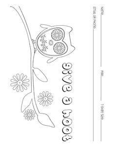 retro owl coloring pages | I love these owl coloring pages. Vintage looking owls are ...