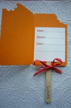 Carte d'invitation anniversaire Lucas - un peu, beaucoup, passionnément