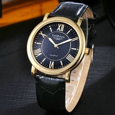 2016 New Arrival Man Roman Numeral Quartz Waterproof Wristwatch  Fashion Leisure Men Super Soft Leather Watch Reloj Hombre 0535 #Affiliate