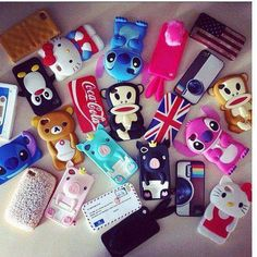 All my phone cases