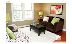 """Home staging in Erin Ontario~ the importance of creating the """"wow"""" factor, especially in first impression rooms."""