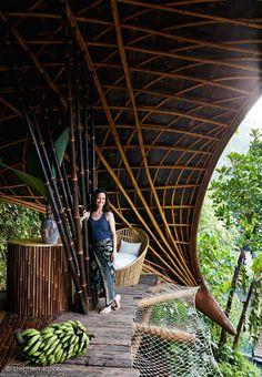 Bambu Indah- Moon House- Bali, Indonesia- IBUKU