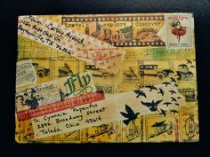 2nd mail out - theme: Travel Front of Envie