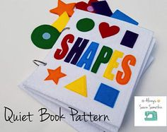 My First Book of Colors quiet book (felt book/busy book) Quiet Book Templates, Quiet Book Patterns, Quilt Patterns, Templates Free, Doll Patterns, Sensory Book, Felt Quiet Books, Busy Book, Book Activities