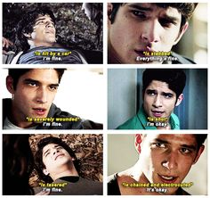 """""""its okay, it's okay it's perfect"""" -Allison Argent. Teen Wolf Tumblr, Teen Wolf Quotes, Teen Wolf Funny, Teen Wolf Memes, Teen Wolf Scott, Teen Wolf Boys, Teen Wolf Dylan, Dylan O'brien, Tyler Posey"""