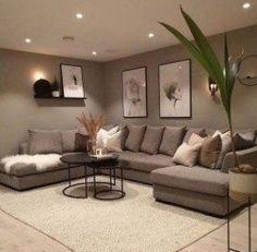 Interior Design Living Room Warm, Living Room Sofa Design, Home Room Design, Living Room Designs, Living Room Furniture, House Design, Classy Living Room, Cozy Living Rooms, Home Living Room