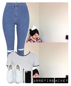 """""""""""A black suit at the funeral home, and my birthday suit when I'm home alone."""" ~Hattie"""" by imaginegirl1d5sos ❤ liked on Polyvore featuring Topshop, Vans, Wet Seal, Maison Takuya and HattiesFashion"""