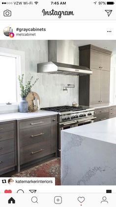 New Kitchen, Kitchen Ideas, Kitchen Designs, Remodeled Kitchens, Farmhouse  Design, Farmhouse