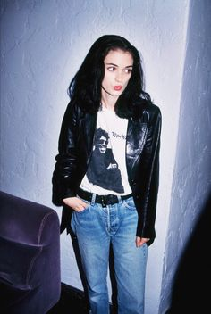 Post with 1607 votes and 105864 views. Tagged with celebrity, tom waits, winona ryder, xennials; Shared by Winona Ryder in Tom Waits Shirt 1991 Winona Ryder 90s, Winona Ryder Style, Back In The 90s, 1990 Style, Winona Forever, Fashion In, 80s Fashion Icons, Rebel Fashion, Fashion Outfits
