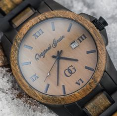 Like wood watches? All Natural Green Sandalwood and Matte Black Stainless Steel. Join the OG family!