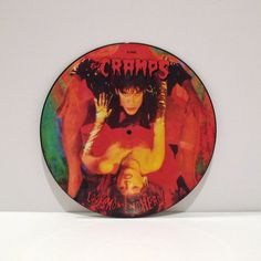 The Cramps Vinyl Record Album Picture Disc Look Mom by MohawkMusic