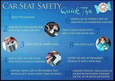 Carseat safety basic facts. I'm a car seat stiffler. I can't stand ppl posting pics with their kids strapped in and the straps are super loose,and chest clips are in the wrong spot. If you do one thing right as a parent, please let this be it!!!!