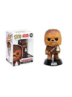 Funko Pop! Star Wars: The Last Jedi Chewbacca Vinyl Bobble-Head,