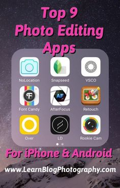 Photography apps for android, photography editing apps, photo apps for android, photography tips Photography Editing Apps, Good Photo Editing Apps, Photography Tips Iphone, Photography Lessons, Learn Photography, Image Editing, Photography Apps For Android, Beginner Photography, Photography School
