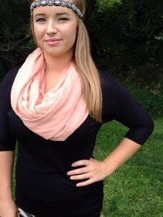 Pink Lace Scarf $15 #scarves #pink #lace #boho #chic