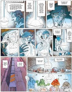 'The Incal' by Moebius  Jodorowsky. John DiFool's alchemical elements
