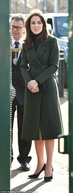 The Duchess - known as the Countess of Strathearn in Scotland - is said to be looking forward to her day of engagements in Edinburgh