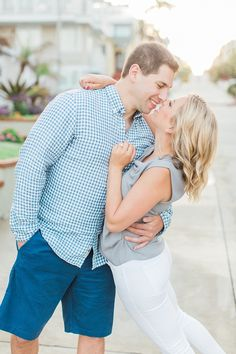 Los Angeles engagement session at Manhattan Beach